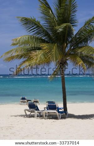 Negril Coast, west Jamaica, Caribbean - stock photo