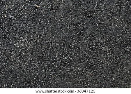 New asphalt background - stock photo