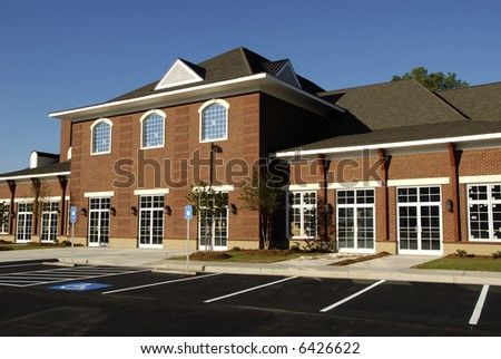 New Retail-Medical-Office Space - stock photo
