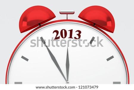 2013 new year - stock photo