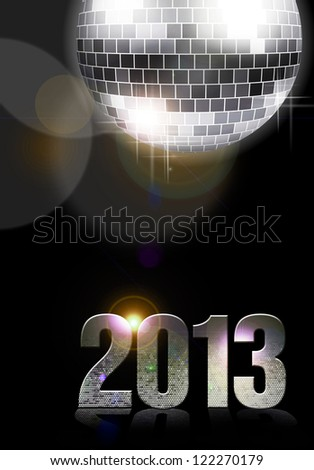 2013 New Year Party - stock photo
