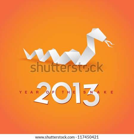 2013 New Year's Eve greeting card - JPG Version - stock photo