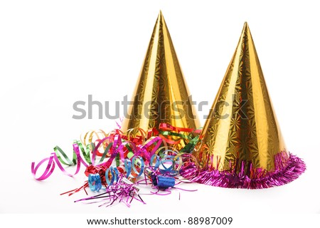 New Year's Party Decoration - stock photo