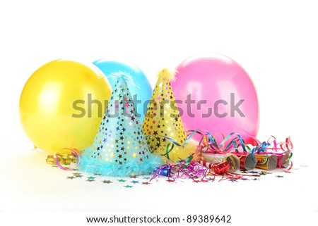 2012 New Year's Party Decoration - stock photo
