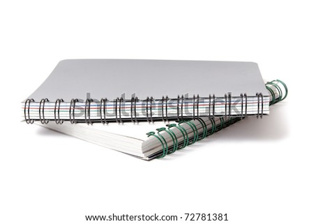 Notebooks. - stock photo