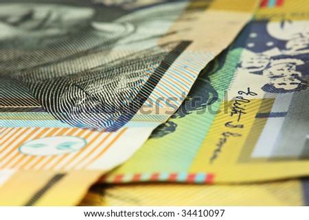 $50 notes - stock photo