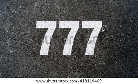 Number seven hundred and seventy seven, 777