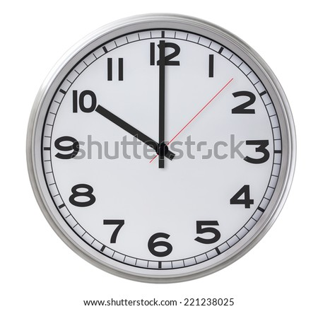 10 o'clock - stock photo