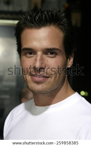 6 October 2004 - Hollywood, California - Antonio Sabato Jr.. The world premiere of 'Friday Night Lights' at Grauman's Chinese Theater in Hollywood.  - stock photo