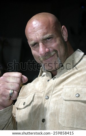 6 October 2004 - Hollywood, California - Bill Goldberg. The world premiere of 'Friday Night Lights' at Grauman's Chinese Theater in Hollywood. - stock photo
