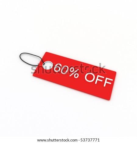 60% OFF - stock photo