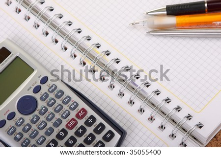office object - stock photo