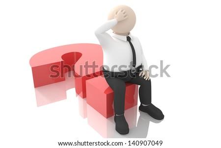 Office scenes (brainstorming) - stock photo