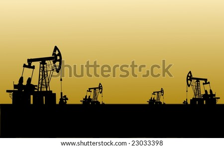 oilfield from mining devices