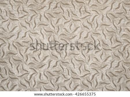 Old textured vellum paper  from photo album                                - stock photo