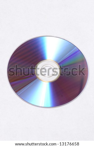 one DVD - stock photo