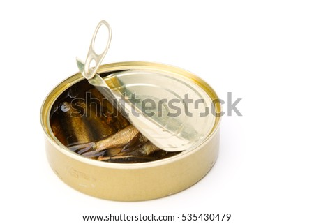 Open bank canned fish 2