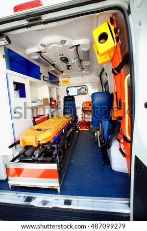Ambulance Interior Stock Images Royalty Free Images