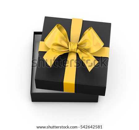 Gift Box Christmas New Years Day Stock Illustration 524297989 ...