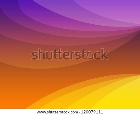 Orange design abstract background, - stock photo