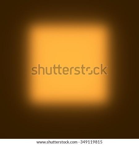 orange light - rendered 3d illustration and Photoshop Elements - stock photo