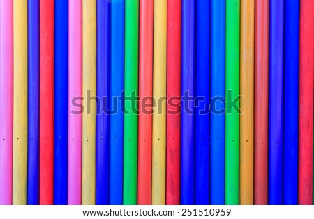 Painted wood wall background