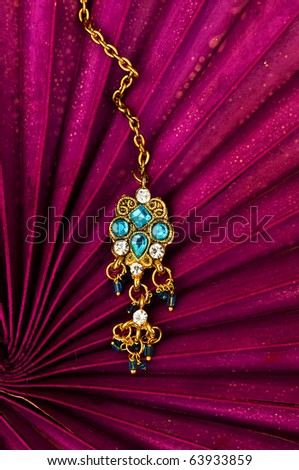pandant jewelery - stock photo