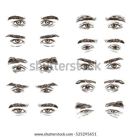 Man Eyebrow Stock Images Royalty Free Images Amp Vectors