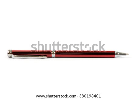 Pen Isolated On White background