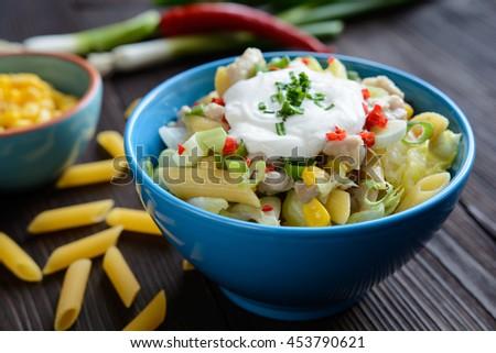 Curd Spread Egg Onion Mustard Dill Stock Photo 499880989 ...