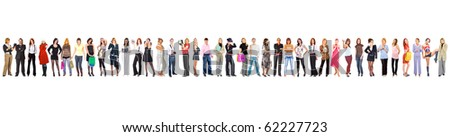 38 People - And More to Add - stock photo