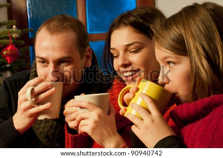 people drinking cup of tea