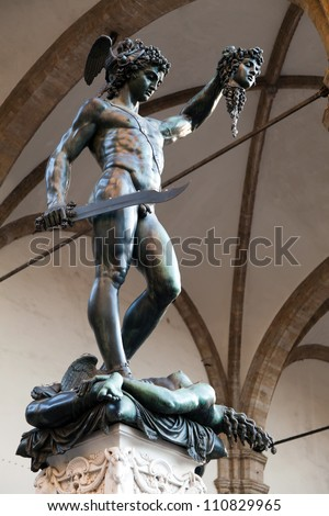 """Perseus with the Head of Medusa"" by Benvenuto Cellini (1554)"