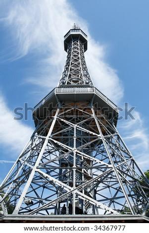 """Petrin"" tower - stock photo"
