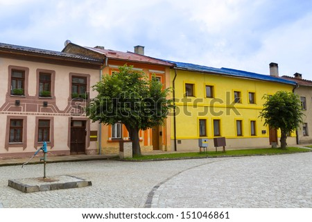 Podolnec town in northern Slovakia