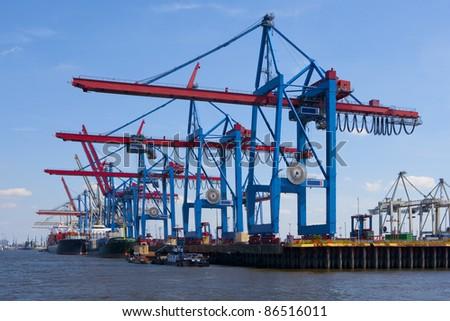 port of shipment - stock photo