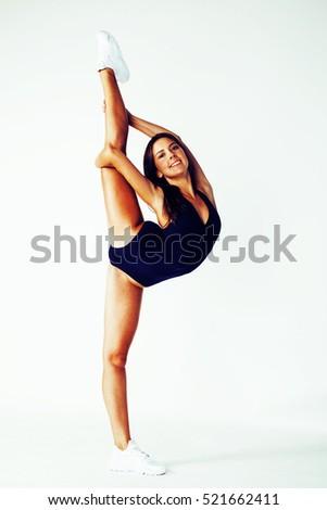 Flexible Gymnastic Pose 26