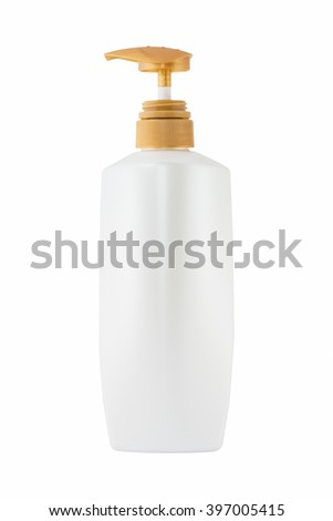 pump bottle isolate