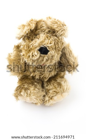 puppy toy - stock photo