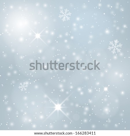 (rasterized version)festive winter blurred background.  illustration. - stock photo