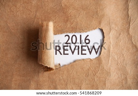 2016 review uncovered