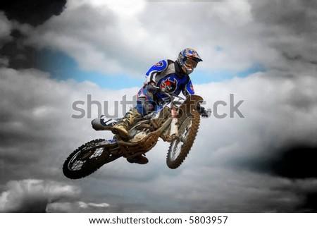 rider - stock photo