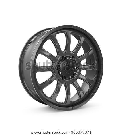 Rims car - stock photo