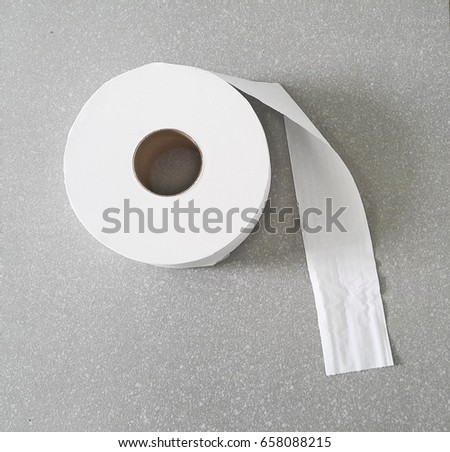 1 roll of tissue roll