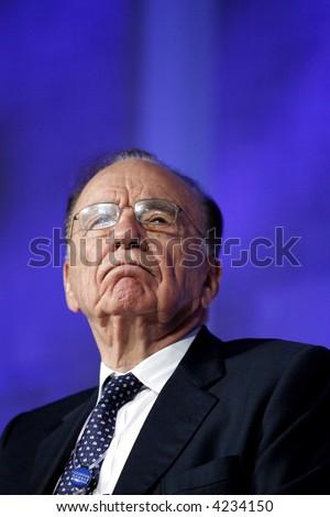 Rupert Murdoch - stock photo