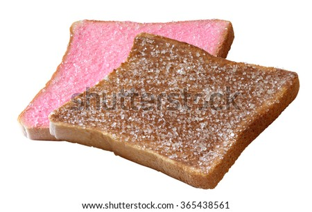 rusk bread with sugar