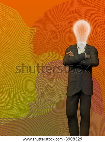 70's Binary Idea - stock photo