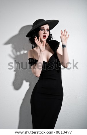 50's Hollywood - stock photo