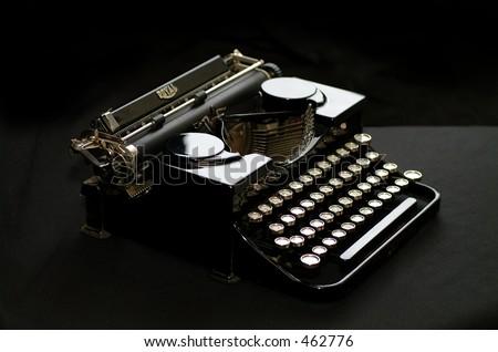 1900's Royal American Vintage Typewriter - stock photo