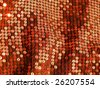 80s sequins sparkling disco party carnival shining sparkling fashion fashionable glittering oriental evening red close up texture sexy christmas textile fabric More of this motif & fabrics in my port - stock photo